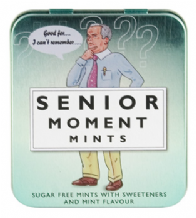 Senior Moment Mints Gift Tin